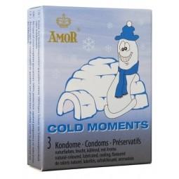 Презервативи - Amor Cold Moments, 3 шт.