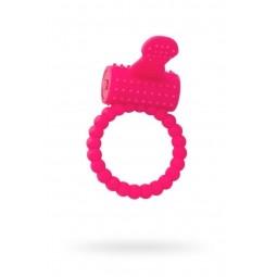 Ерекційне кільце на пеніс Toyfa A-Toys, силікон, рожевий, ø 3,5 см
