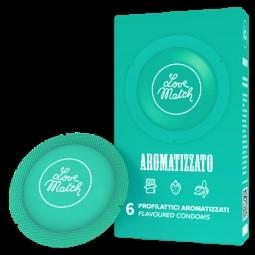 Презервативи - Aromatizzato (Flavoured), 54 мм, 6 шт.