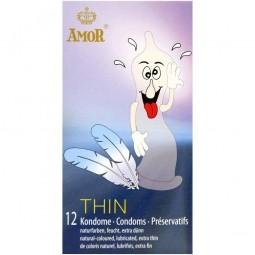Презервативи - Amor Thin, 12 шт.