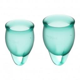 Менструальні чаші - Satisfyer Feel Confident Dark Green