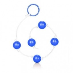 Анальні кульки - Anal Balls Clear Blue Large
