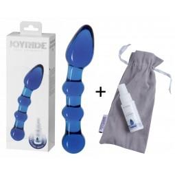 Скляний фалоімітатор - JOYRIDE Premium GlassiX Set 04