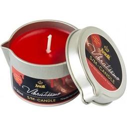 Масажна свічка - Vibratissimo Burning Red, 50 мл