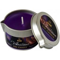 Масажна свічка - Vibratissimo Crazy Purple, 50 мл
