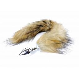 Анальна пробка - Fox Tail Brown XL