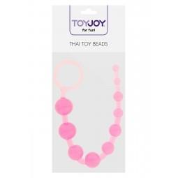 Анальний ланцюжок - ToyJoy Thai Toy Beads Pink