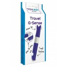 Вібратор - ToyJoy Travel G-Sense Purple
