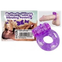 Ерекційне кільце - Butterfly Wings Vibrating Penisring