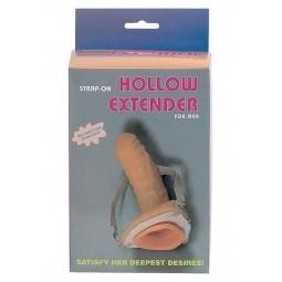 Чоловічий страпон - Strap-On Hollow Extender