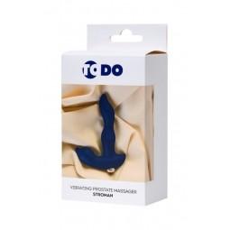 Вібростимулятор простати ToDo By Toyfa Stroman, силікон, синій, 14,5 см