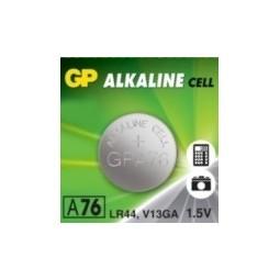 Батарейка GP Alkaine Cell A76, LR44, 1.5V, 1 шт.