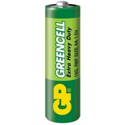 Батарейка GP Greencell 15G, R6P, АА, 1.5V, 1 шт.