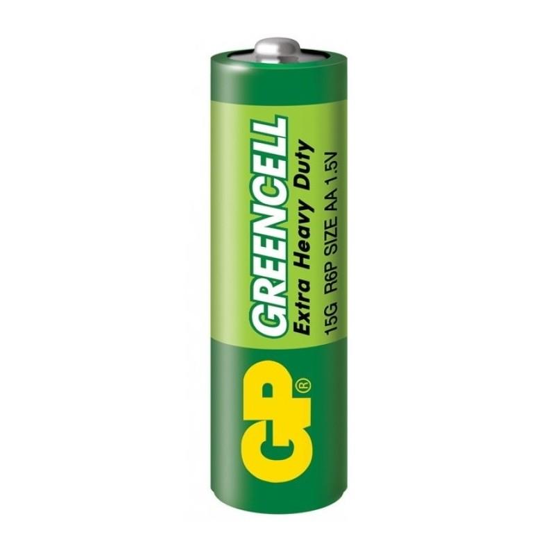 Батарейка GP Greencell 15G, R6P, АА, 1.5V, 1 шт.