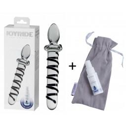Скляний фалоімітатор - JOYRIDE Premium GlassiX Set 01