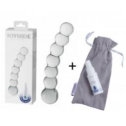 Скляний фалоімітатор - JOYRIDE Premium GlassiX Set 11
