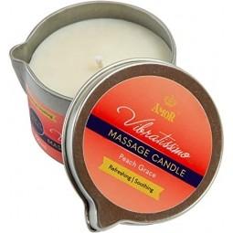 Масажна свічка - Vibratissimo Peach Grace, 50 мл