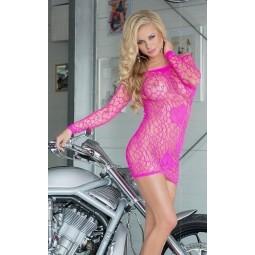 Сукня - Sweetheart, neon pink - S-L