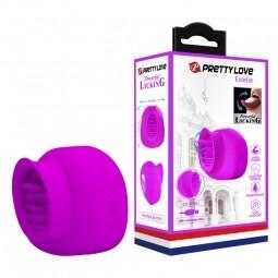 Вібратор - Pretty Love Estelle Licking Vibrator Purple