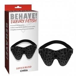 Маска для очей - Behave! Love Is Blind Black