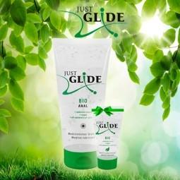 Набір лубрикантів - Just Glide Bio Anal, 200 мл + 20 мл в подарунок