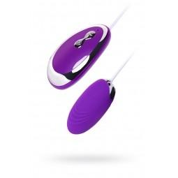 Віброяйце Toyfa A-Toys, силікон, фіолетовий, 6,5 см